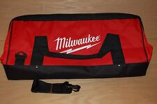 """Brand New Milwaukee Large 22"""" Canvas Tool Bag with Shoulder Strap"""