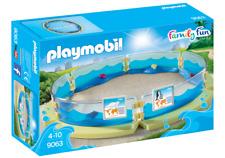 Playmobil 9063 Aquarium Enclosure MIB / New