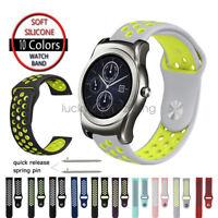 Replacement Silicone Sport Wristband For LG Watch Band Urbane W100 W110 W150