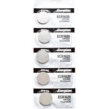 5 x Energizer CR1620 Batteries, Lithium battery 1620