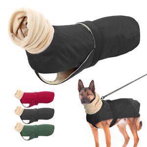 Winter Dog Jacket with High Collar Greyhound Hunter Outfit Coat Vest for Large