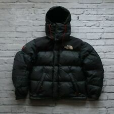 Vintage North Face Summit Series 700 Down Windstopper Jacket Black Puffy Puffer