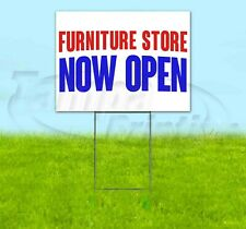 Furniture Store Now Open Yard Sign Corrugated Plastic Bandit Lawn Decorations