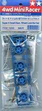 Tamiya 4WD Mini Racer Super X Small Diam. Wheel Lock-Nut Set Plastic #15250