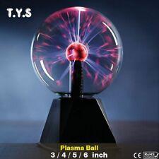 Lamp Light Night Bedroom Touch Sensor Sphere Magic Plasma Ball Crystal Lava