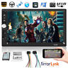 """HD 7"""" Doppel 2DIN Touch Screen Autoradio Bluetooth Car Stereo USB AUX MP5 Player"""