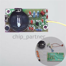 DIY Kit 88MHz-108MHz FM Frequency Modulation Wireless Microphone Module Teaching