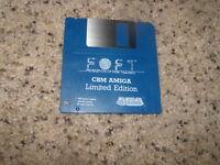 "Foft Federation of Free Traders Limited Edition CBM Amiga 3.5"" floppy disk"