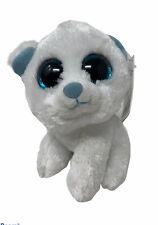 "Wild Republic Plush Lil Sweet & Sassy MARSHMALLOW Polar Bear Glitter Eyes 5"" Toy"