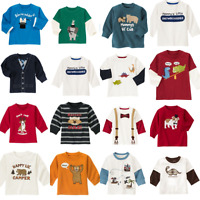 Gymboree Boys Tee Shirts 3-6 mo Tops Blue Red Dino Holiday Animals Winter Summer