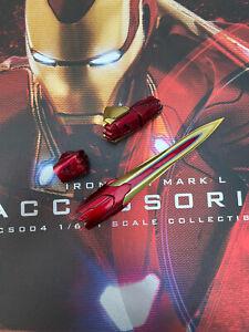 Hot Toys ACS004 MMS473D23 Iron Man Mk50 Mark L Accessories Nano Katar Loose