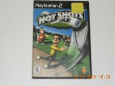 HOT SHOTS GOLF  PLAYSTATION 2 PS2 COMPLETE IN BOX W/ MANUAL  (vg. cond.