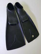 schwarze Flossen Schwimmflossen für Kinder Gr. 27 - 30 Atoll Schnorchelflossen