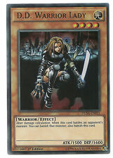 D.D. Warrior Lady DUSA-EN051 Ultra Rare Yu-Gi-Oh Card English 1st Edit Mint New