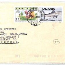CF265 1994 Tanzania *BISHOP TELESPHOR MKUDE* Air Cover MIVA Austria SHARK FISH