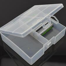 Portable Hard Plastic PP Battery Case Holder Storage Box for 24 x AA Batteries