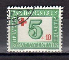 SVIZZERA SWISS SCHWEIZ 1945 Pro Croce Rossa USATO