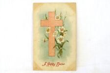 1909 Happy Easter Postcard 3108 One Cent Stamp La Center Washington Postmark
