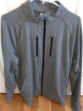 Lululemon Mens Shift Full Zip Jacket Grey /Black Accents XL Great Condition