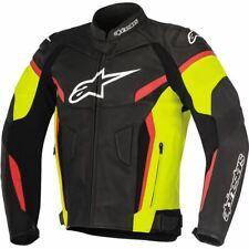 Alpinestars GP Plus R v2 Leather Jacket - Black/Flo Yellow/Red, All Sizes