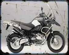 Bmw R1200Gs 11 1 A4 Photo Print Motorbike Vintage Aged