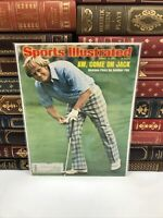 Sports Illustrated ~ August 18 1975 ~ Jack Nicklaus PGA ~ Bagged & Boarded