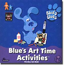 Blue's Clues Art Time  Strengthen early art skills Create your own art portfolio