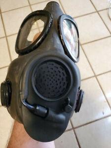 U. S. M-17 Gas mask-A1-A2 Style GAS MASK ORIGINAL MILITARY SURPLUS