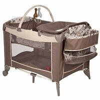 Pack And Play Playard Playpen Bassinet Baby Crib Diaper Changer Toddler Bedding