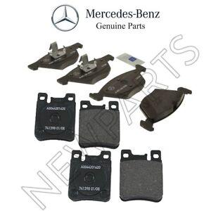 For Mercedes R170 W208 W210 W211 E320 E420 Set of Front & Rear Brake Pad Set