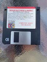 """Beavis & Butthead in Wolfenstein 3D ~ 3.5"""" Floppy Disk PC Game"""