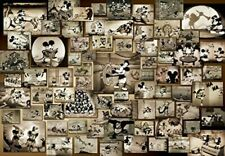 TENYO Jigsaw Puzzle Mickey Mouse Monochrome Film Movie D-1000-398