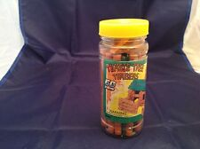 Tumble Tree Timbers 50 Pcs In Original Container Maxim Very Nice Bldg Toy