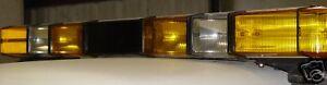 Whelen 8 Strobe Lightbars Police Fire Lightbar Loaded