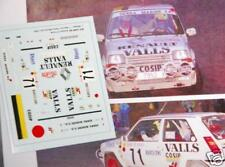 DECAL CALCA 1/43 RENAULT 5 GT TURBO J. MASDEU RALLY MONTE CARLO 1990