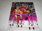 LOLO JONES SIGNED 8X10 PHOTO USA OLYMPICS TRACK AND FIELD SUPERSTAR