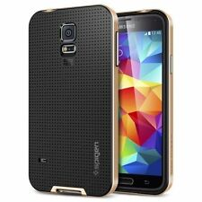 Neo Hybrid TPU + Pc Fitted Case for Samsung GS5 i9600 Phone Case (Gold)^