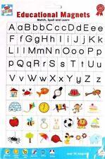 Kids Create Over 70 Educational Magnets Letter Sheet Match / Spell & Learn