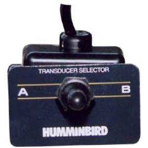 Humminbird 2 Transducers - 1 Head Unit Switch