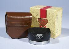 Rollei Rolleiflex R1 Metal Lens Hood * Bay I * Cased & Box