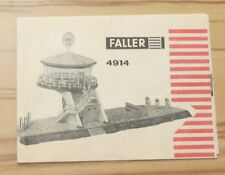 FALLER AMS Original Booklet for KIT 4914