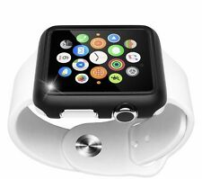 Maxboost Premium Protective Apple Watch 42mm Bumper Case for Apple Watch. Black.