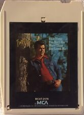 Conway Twitty This Time I've Hurt Her 8 track tape 1975