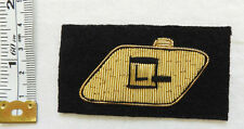 An Original Military RTR Tank Regiment Corps Bullion Cloth Formation Badge (4570