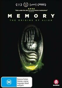 Memory - The Origins Of Alien DVD