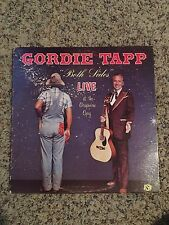 Gordie Tapp Lp Both Sides Live At The Grapevine Opry Vintage Canada Hee Haw Rare