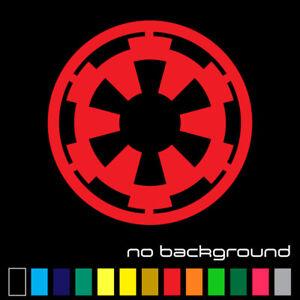 Star Wars Galactic Empire Sticker Vinyl Decal Die Cut - Car Window Wall Decor