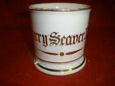 "Antique Shaving Mug, ""Harry Seaver Norris"""