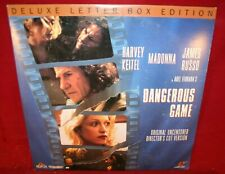 Laserdisc O * Dangerous Game * Harvey Keitel Madonna James Russo Letter-Box