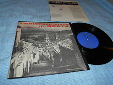 "Christmas Songs Of Spain 10"" LP Recorded by Laura Boulton Folkways org EX/EX"